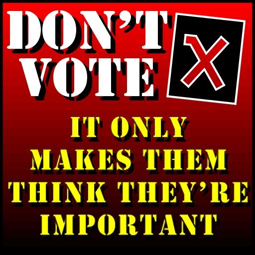dont vote