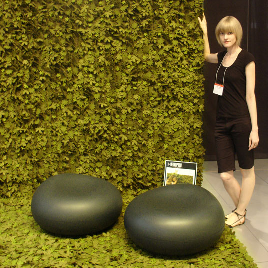 ICFF 2007, Tord Boontje, Nanimarquina, Little field of flowers