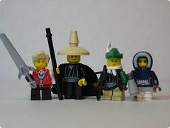 Final Fantasy III - LEGO Characters