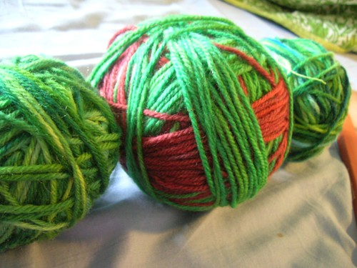 Balled and ready to be knit.