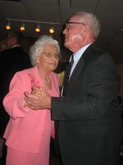 My mamaw and papaw dancing.
