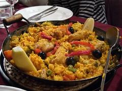 Paella jueves en Madrid