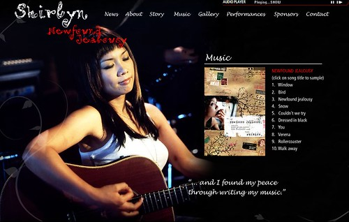 "Shirlyn Tan's ""Newfound Jealousy"" @ Esplanade"