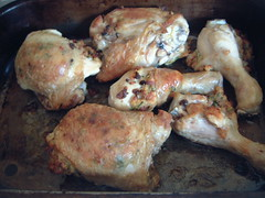 Chicken stuffed with pancetta and Parmesan