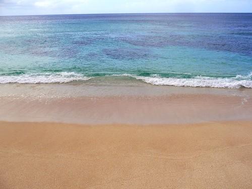 Sunset Beach On A Calm Day
