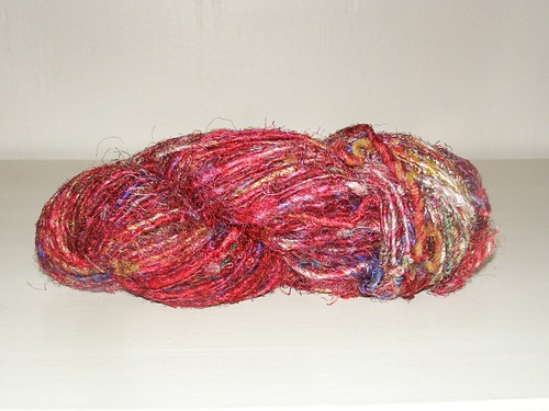 Himalya Yarn's Recycled Silk