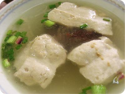 Pork noodle - soup
