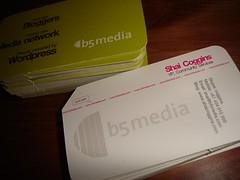 b5media biz card