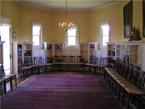 Montpelier Mansion Library