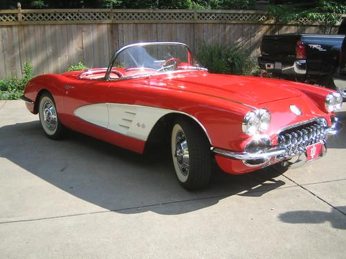 Dad's Corvette