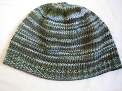 ocean striped hat