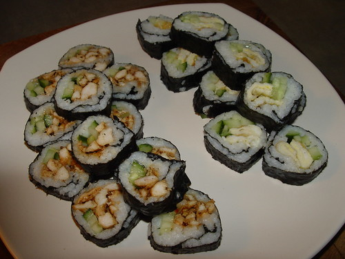 Sushi! Home made!