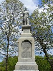 Hannah Dustin monument, Penacook, NH