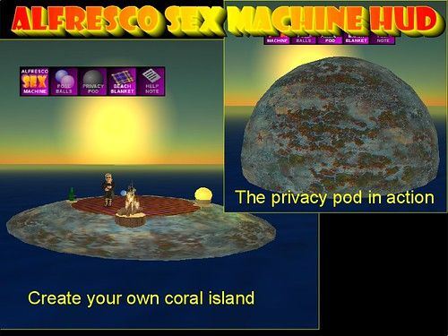 Alfresco Sex Machine Extras1
