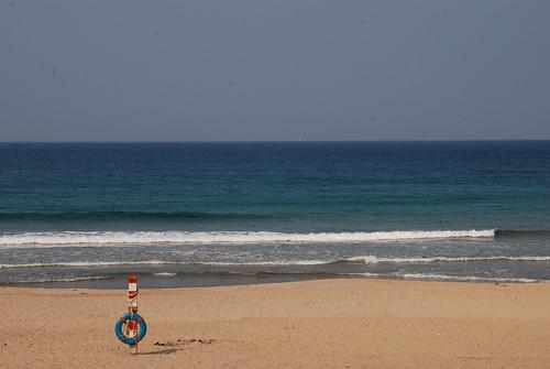 濱海海灘-救生圈