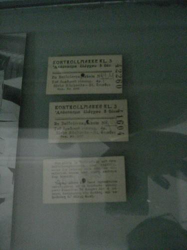 The Original Train Tickets..