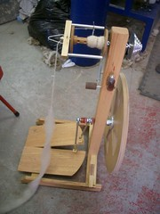 My wheel still at the spinnery