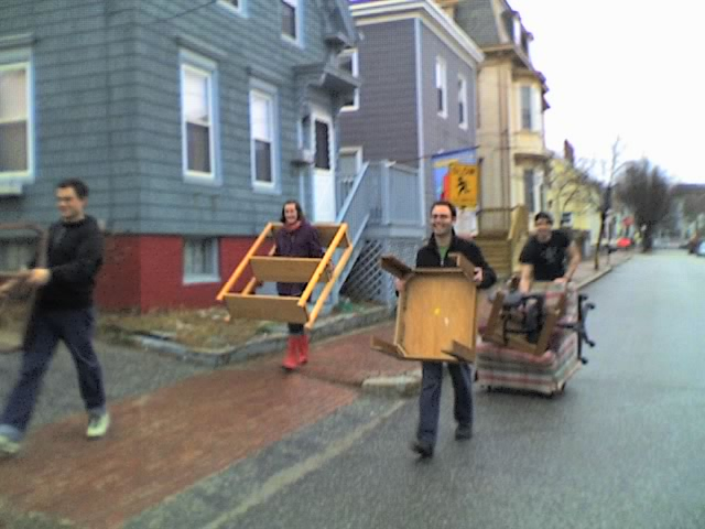 furniture moving party