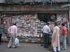 Street book seller, Delhi