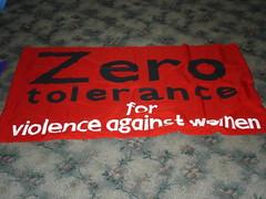 Tolerancia cero para la violencia contra las m...