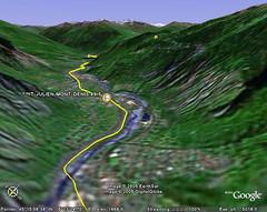 Tour de France Google Earth Maps