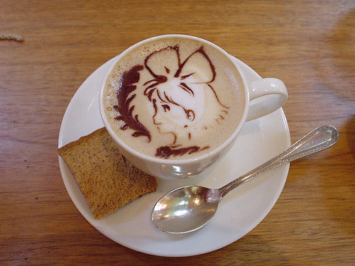 Ghibli museum coffee