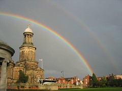 Double rainbow Shrewsbury