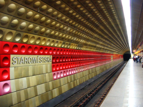 Prague Metro Red Line