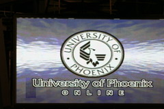 University of Phoenix Megascreen