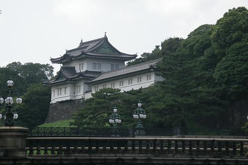 imperial palace - closeup