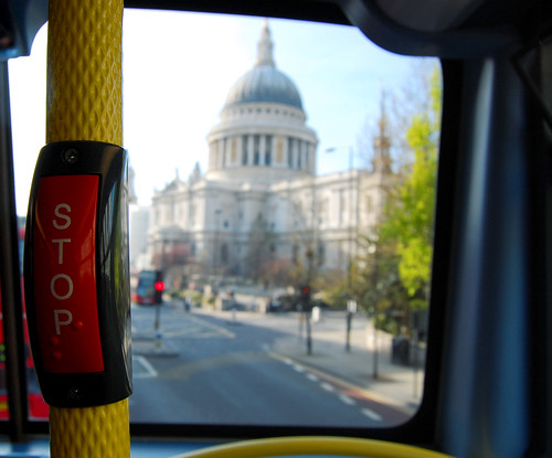 Stopping at St Paul's
