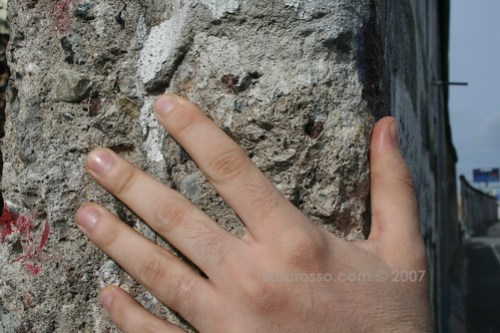 Touching History at the Berlin Wall