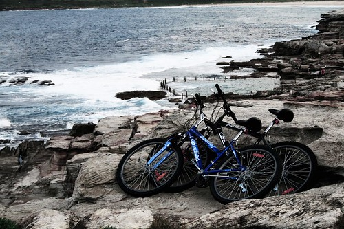 Bikes in Maroubra