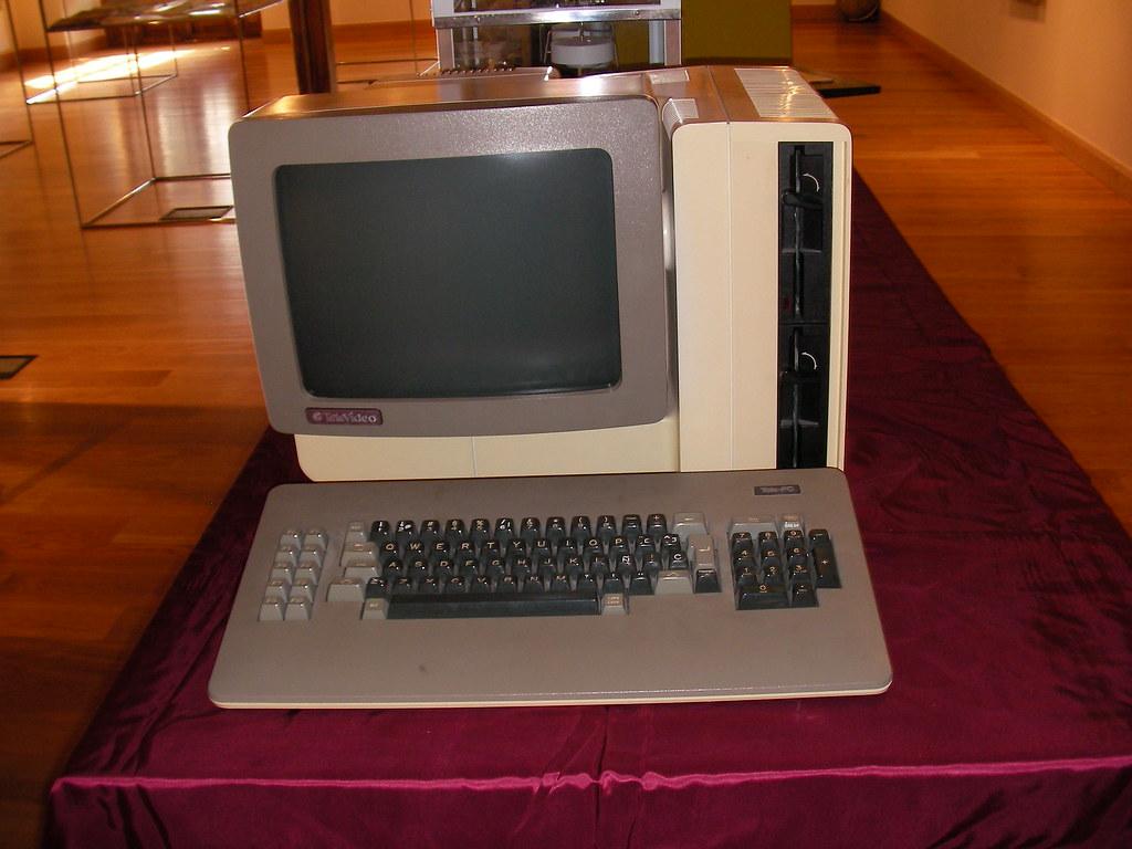 Televideo, el primer PC educativo del mundo