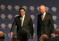 Hosni Mubarak, Klaus Schwab - World Economic F...