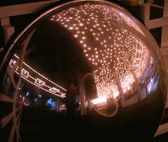 Mirror Sphere, Night