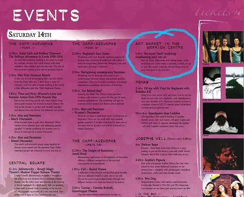 ladyfest programme