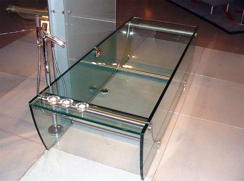 Prizma - Glass Bathtub