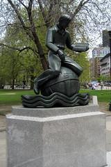 Boston - Boston Common: Parkman Plaza - Learning