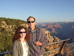 grand canyon early in the morning