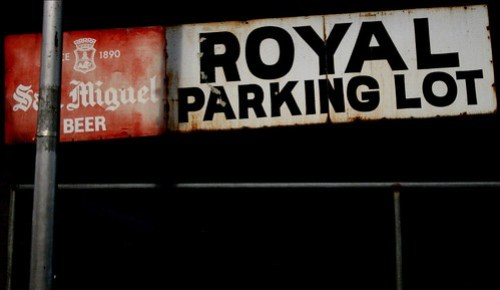royal parking lot