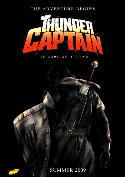 Teaser Poster de Capitán Trueno