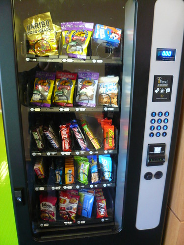 Vending machine priced by grams of fat, Google, San Jose, California.jpg