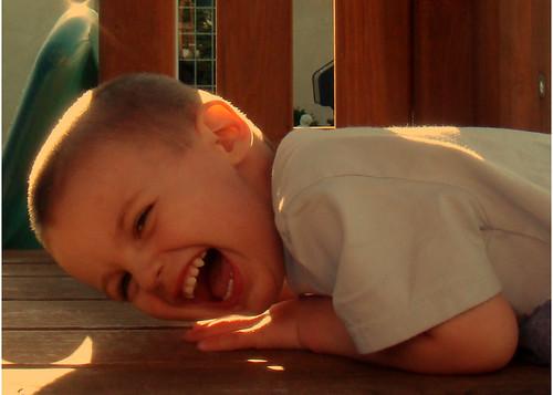 Owen Laughing