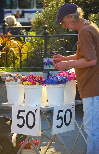 50 Cent Flowers