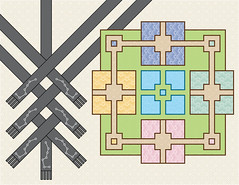The garden of argument - a gameboard