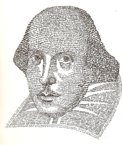 William Shakespeare -- Text Portrait