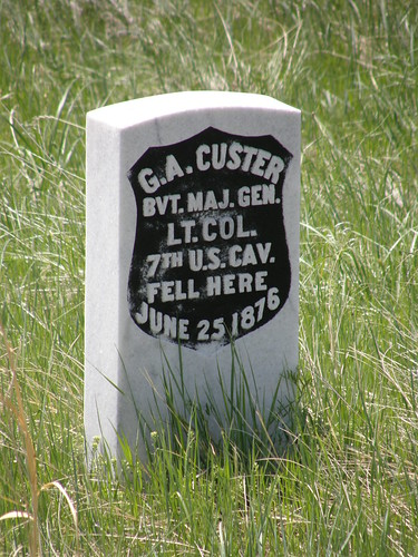 Custer's Grave at Little Bighorn by jimbowen0306.