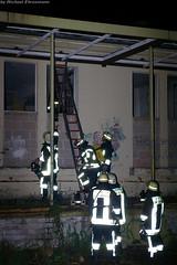 Feuer in Abrissgebäude Kastel 14.05.07