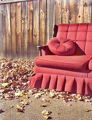 Abandoned couch, Keene, NH